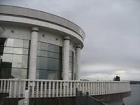Санаторий Волжский Утес, пустотелые колонны