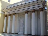 Дом Шаляпина, Уфа, колонны ООО РИФ-Челябинск