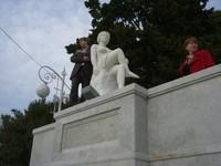 Статуя женщины, санаторий РУСЬ, г. Сочи